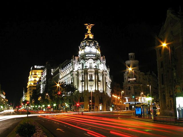 Madrid-by-night