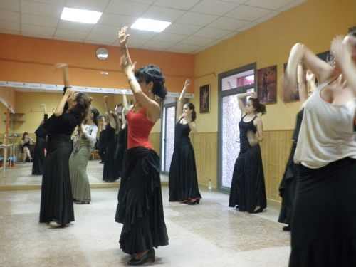 flamenco classes at ail madrid