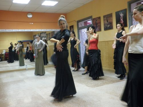 flamenco dance classes at ail madrid 2