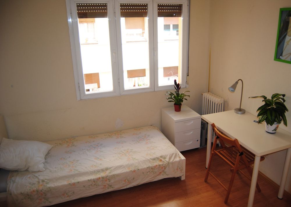 7 - individual furnished rooms in student flatshares in central madrid
