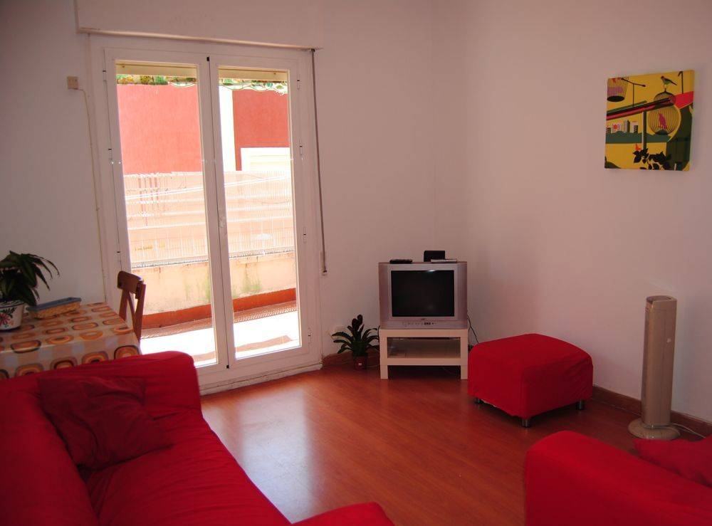 7 - living room in shared student flatshare in madrid